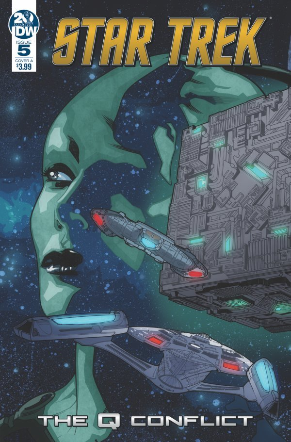 Comic Review for week of June 12th, 2019 STAR TREK THE Q CONFLICT #5