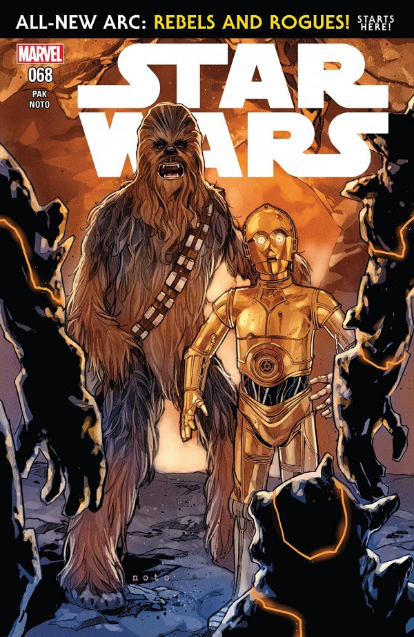 Comic Review for week of July 10th, 2019 STAR WARS #68