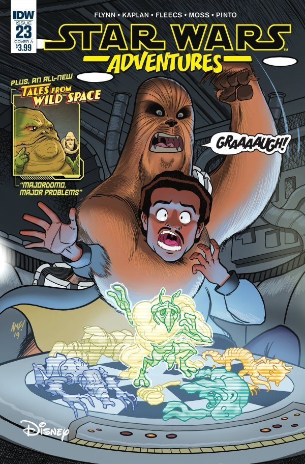 Comic Review for week of July 3rd, 2019 STAR WARS ADVENTURES #23