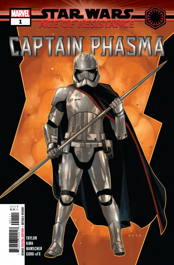 STAR WARS AGE OF RESISTANCE CAPTAIN PHASMA 1 Comic Review for week of July 10th, 2019