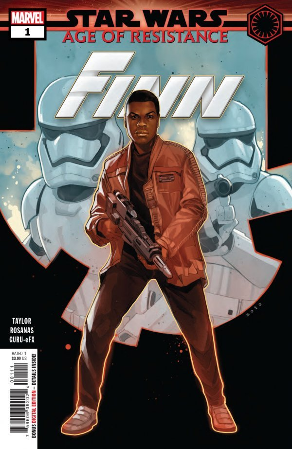 Comic Review for week of July 3rd, 2019 STAR WARS AGE OF RESISTANCE – FINN #1