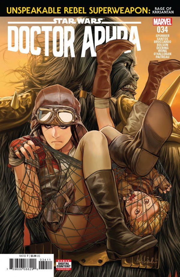 STAR WARS DOCTOR APHRA 34 Comic Review for week of February 20th, 2019