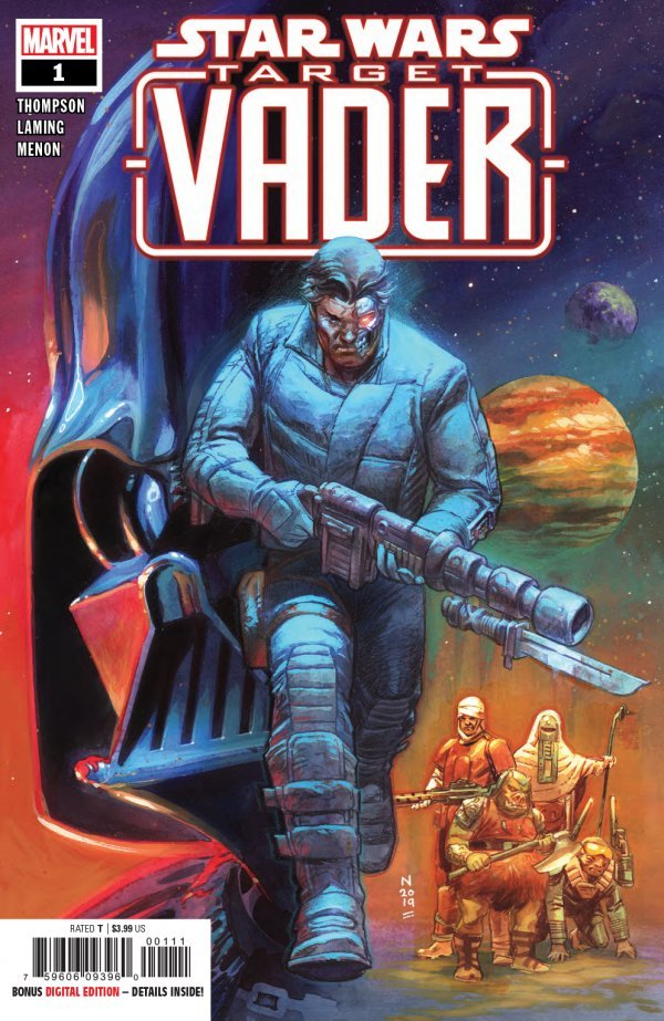 Comic Review for week of July 3rd, 2019 STAR WARS TARGET VADER #1