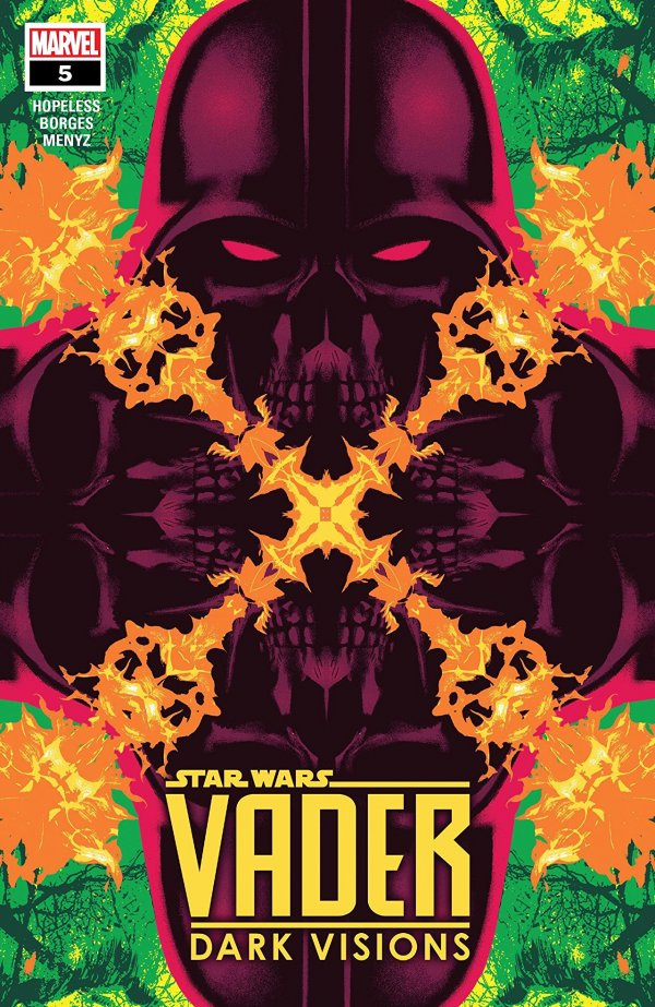 Comic Review for week of June 12th, 2019 STAR WARS VADER – DARK VISIONS #5