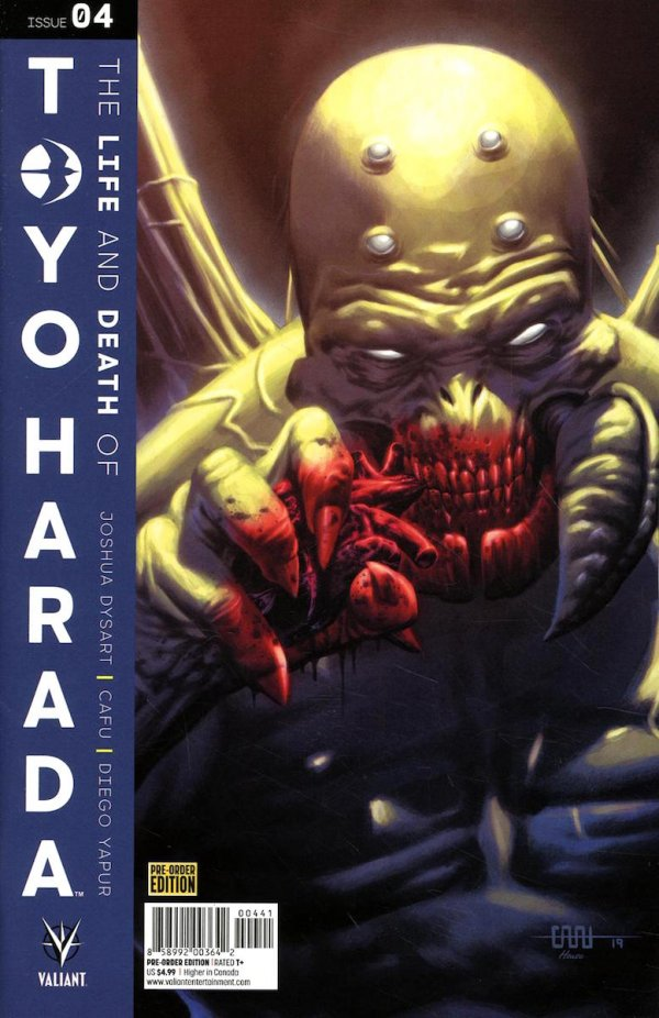 Comic Review for week of June 12th, 2019 THE LIFE AND DEATH OF TOYO HARADA #4 COVER D PRE-ORDER EDITION