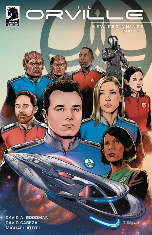 THE ORVILLE 1 Comic Review for week of February 20th, 2019