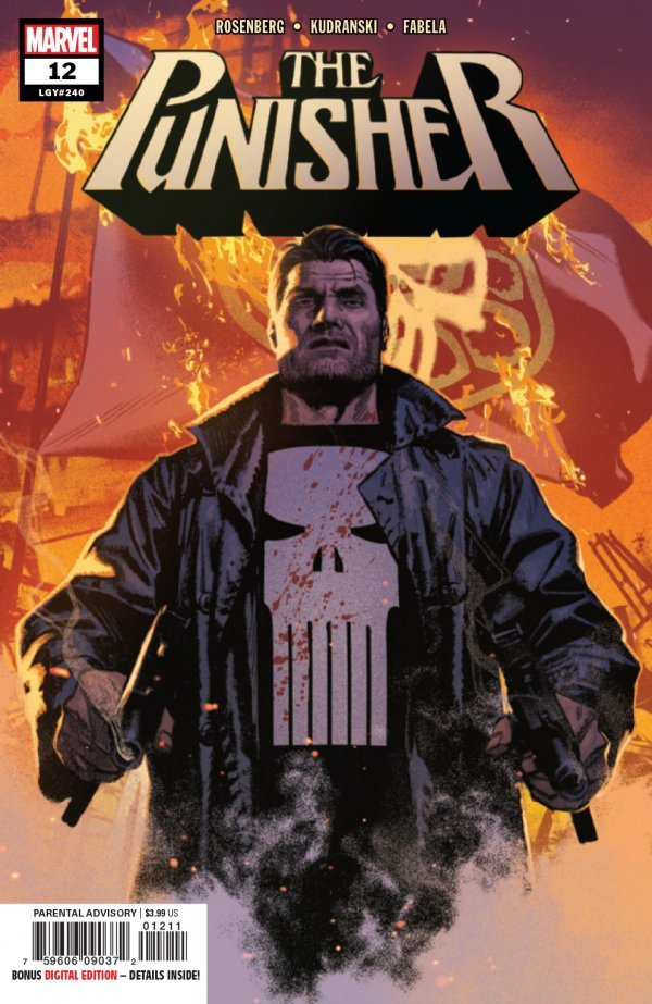 Comic Review for week of June 12th, 2019 THE PUNISHER #12