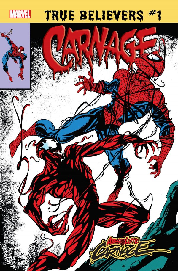 TRUE BELIEVERS ABSOLUTE CARNAGE CARNAGE 1 Comic Review for week of July 10th, 2019