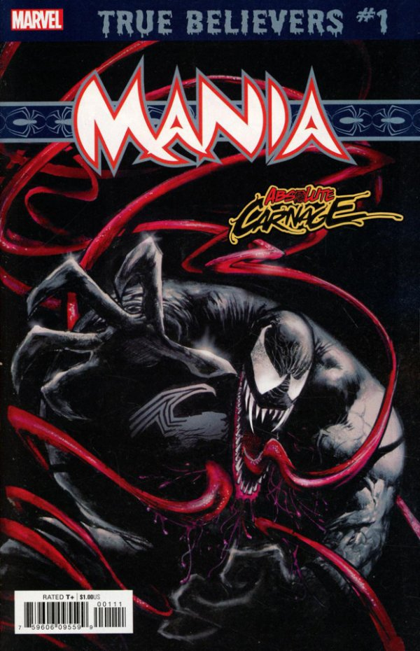 TRUE BELIEVERS ABSOLUTE CARNAGE MANIA 1 Comic Review for week of July 24th, 2019