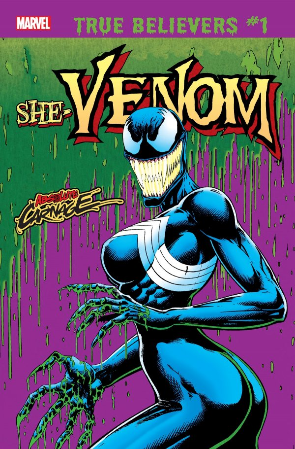 Comic Review for week of July 3rd, 2019 TRUE BELIEVERS ABSOLUTE CARNAGE – SHE-VENOM #1