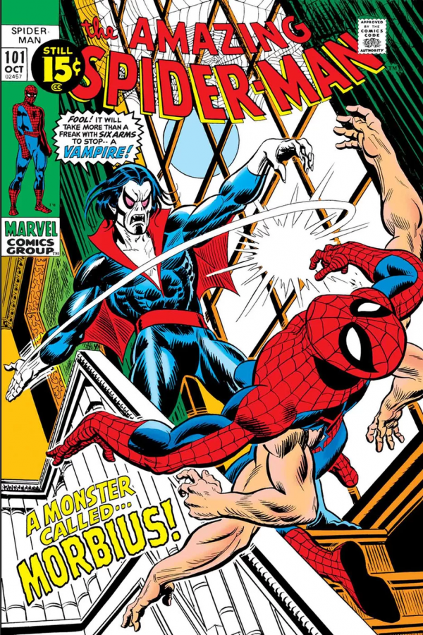 Comic Review for week of June 12th, 2019 TRUE BELIEVERS SPIDER-MAN – MORBIUS #1