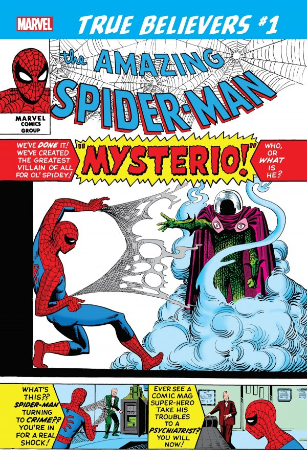 TRUE BELIEVERS SPIDER MAN VS. MYSTERIO 1 Comic Review for week of June 26th, 2019