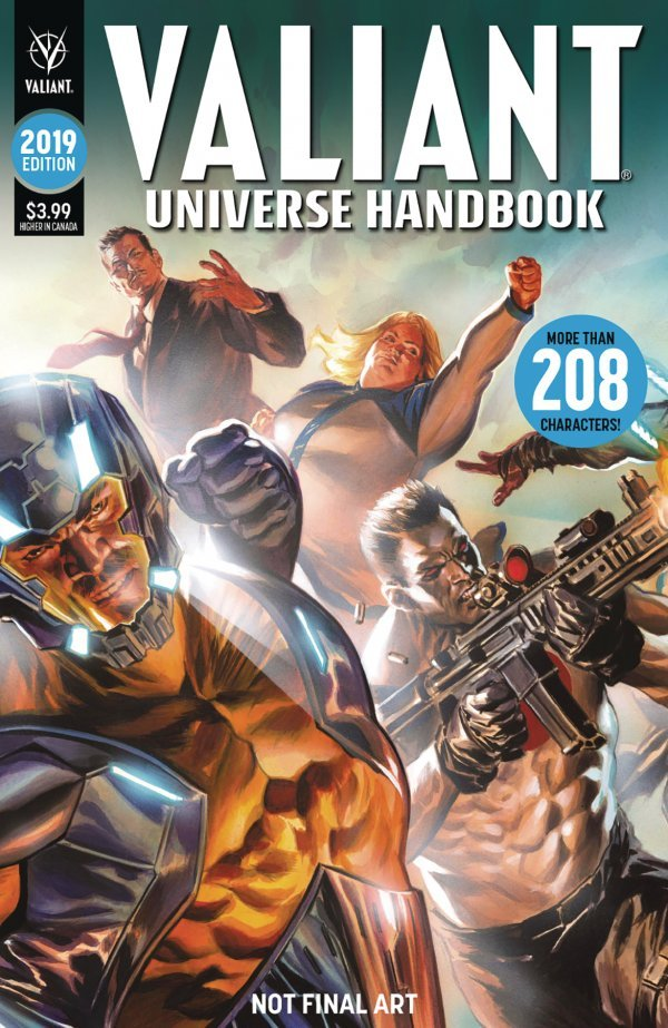 VALIANT UNIVERSE HANDBOOK 2019 EDITION 1 Comic Review for week of June 26th, 2019