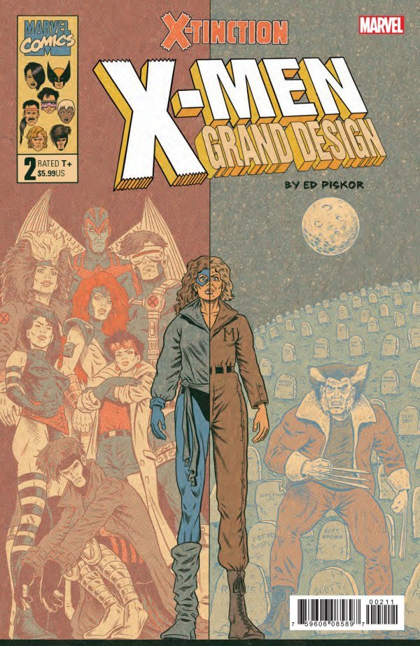 X MEN GRAND DESIGN X TINCTION 2 Comic Review for week of June 26th, 2019