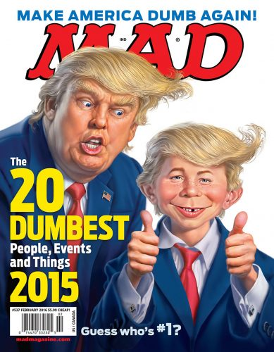 mad magazine trump cover 389x500 MAD Magazine to Effectively Shutter After 67 Years