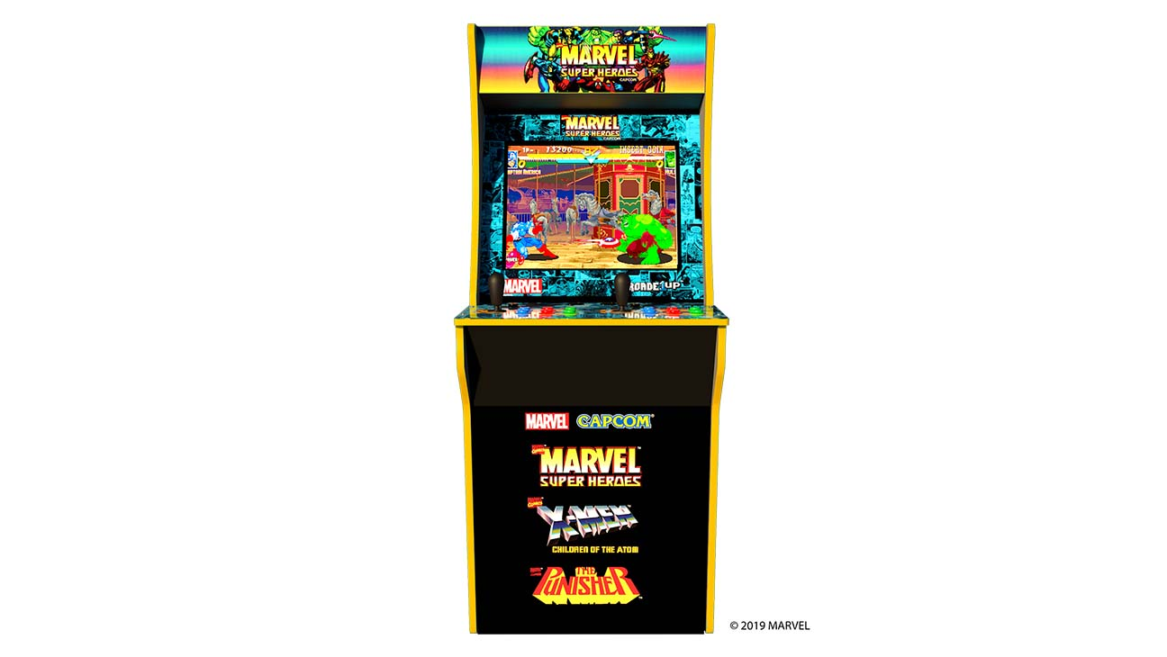 Limited Edition 'Marvel Super Heroes' Arcade Cabinet Coming From Arcade1Up Limited Edition 'Marvel Super Heroes' Arcade Cabinet Coming From Arcade1Up