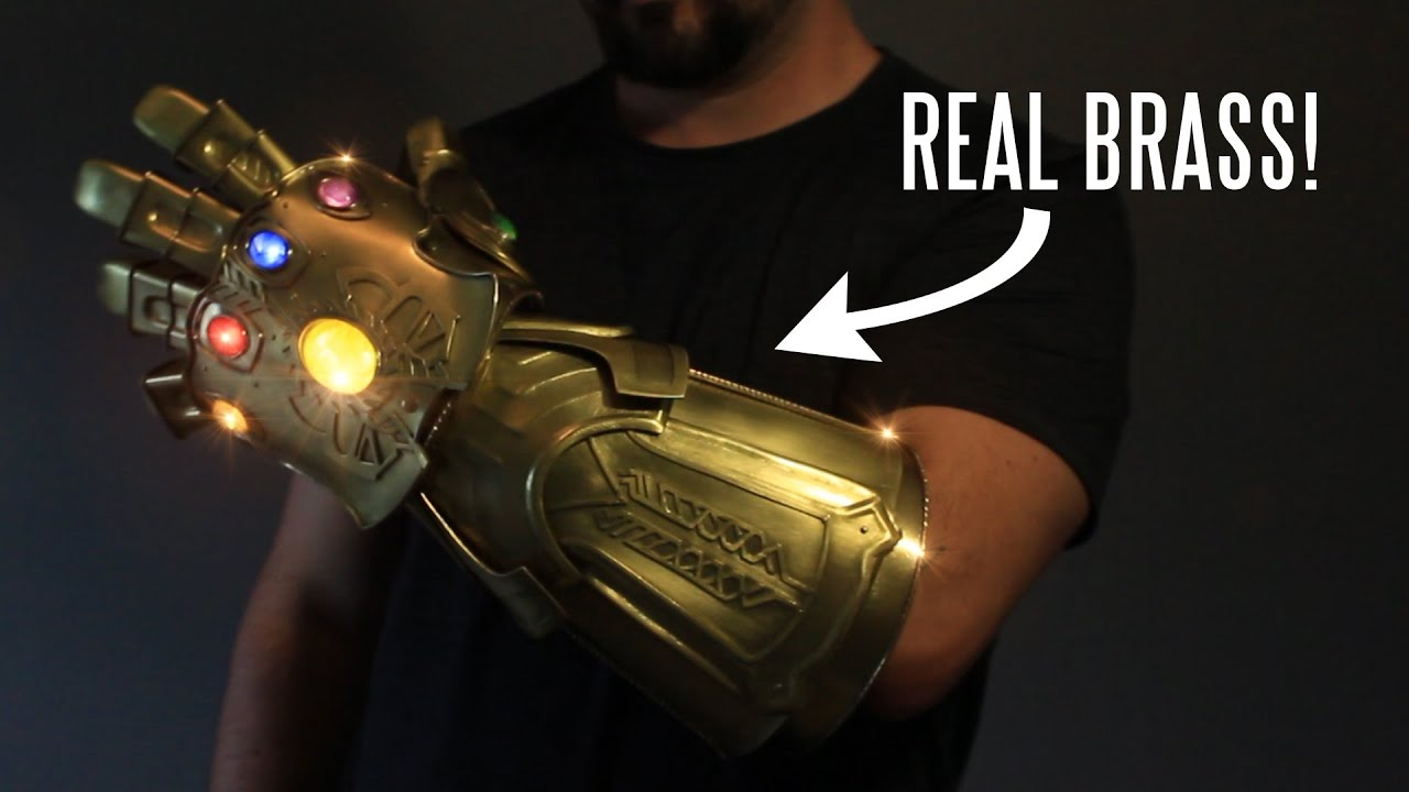 REAL metal Infinity Gauntlet (that snaps!) REAL metal Infinity Gauntlet (that snaps!)