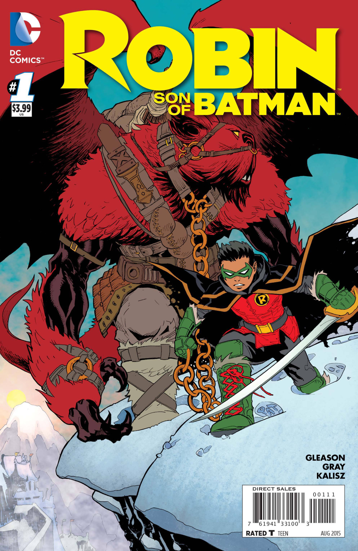 Robin: Son of Batman 0001