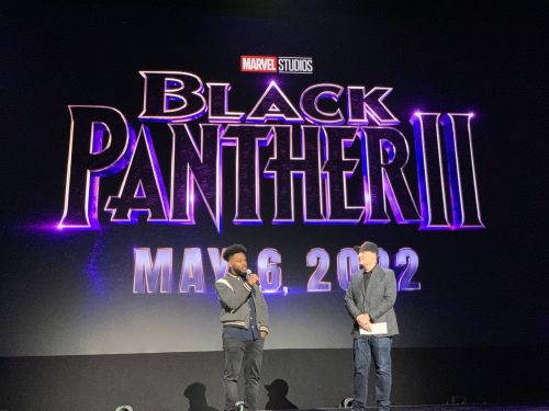 ECwIrMNUcAcD6Ao 500x375 Ryan Coogler returns to direct Marvel Studios' BLACK PANTHER 2, in theaters May 6, 2022.