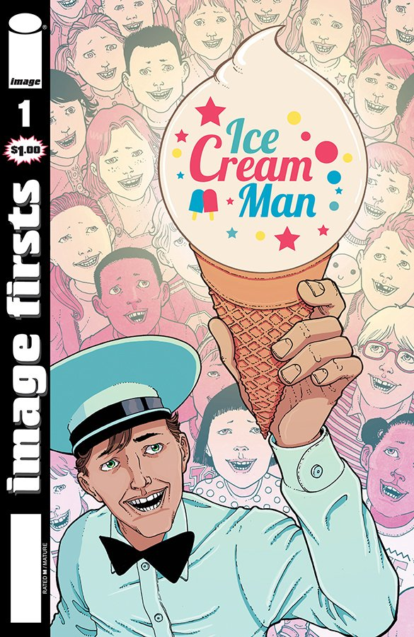Comic Review for week of August 7th, 2019 IMAGE FIRSTS ICE CREAM MAN #1
