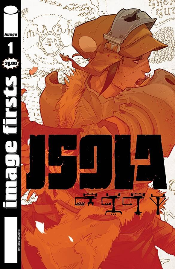 Comic Review for week of August 7th, 2019 ISOLA #1 IMAGE FIRSTS EDITION