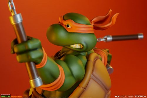 PCS Michelangelo Statue 022 500x333 Pop Culture Shock TMNT Michelangelo Statue   The Toyark   News