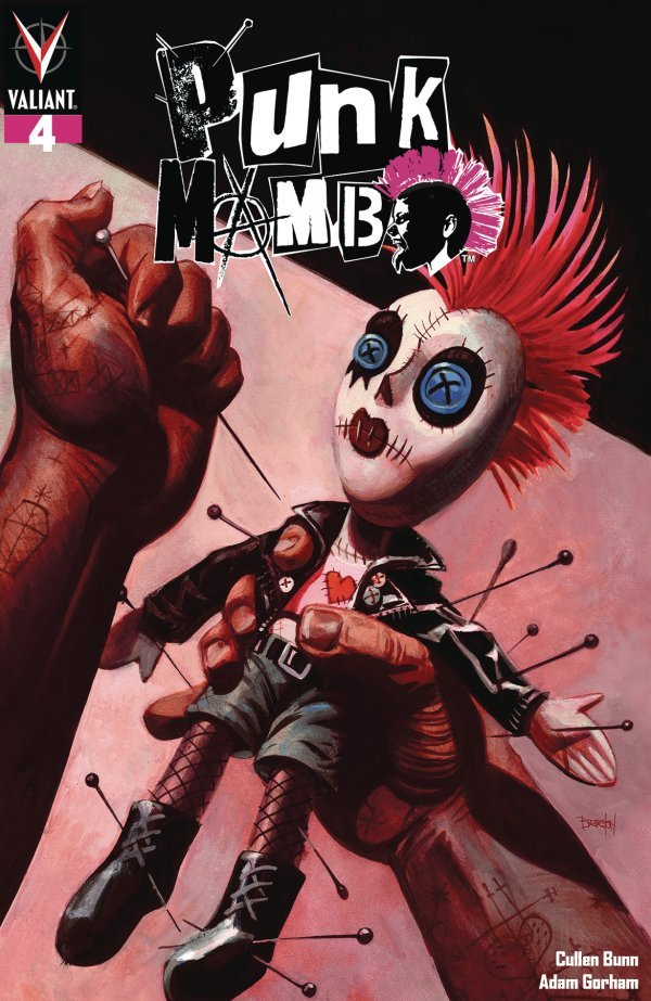 PUNK MAMBO 4 Comic Review for week of July 31, 2019