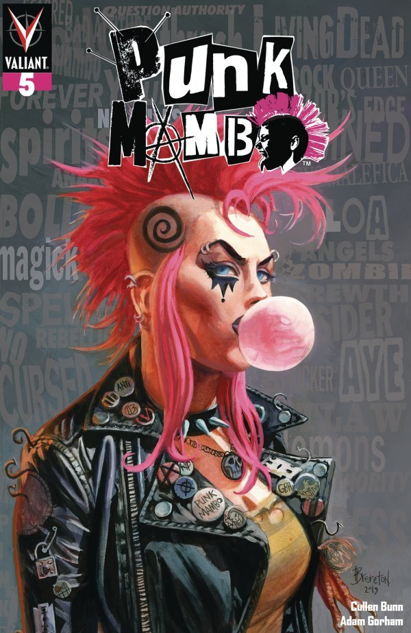 Comic Review for week of August 16th, 2019 PUNK MAMBO #5