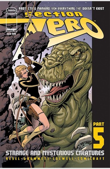 Comic Review for week of August 7th, 2019 SECTION ZERO #5
