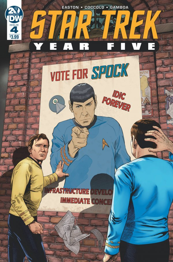 Comic Review for week of August 16th, 2019 STAR TREK YEAR FIVE #4