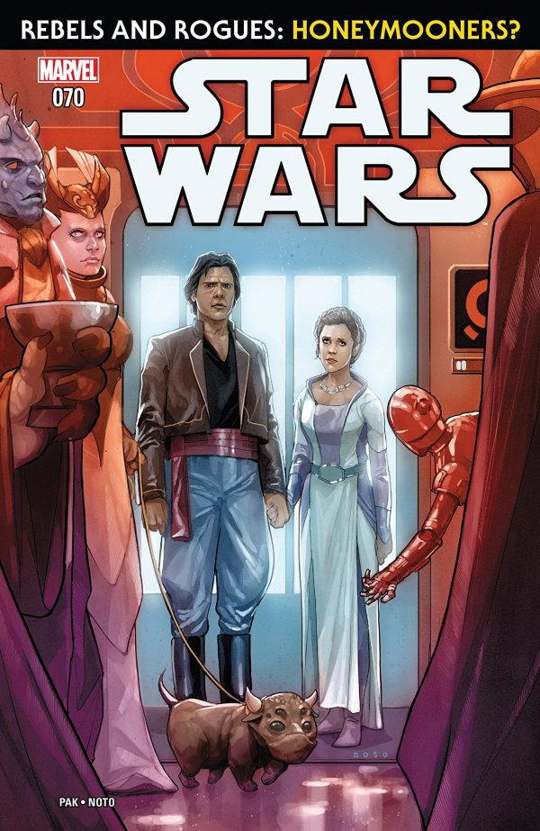 Comic Review for week of August 7th, 2019 STAR WARS #70