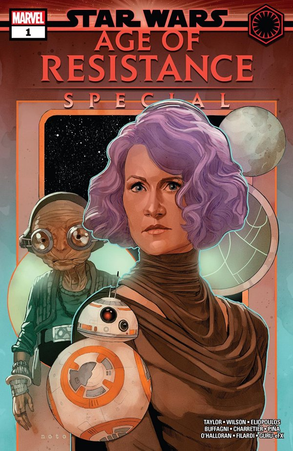 Comic Review for week of July 31, 2019 STAR WARS AGE OF RESISTANCE SPECIAL #1