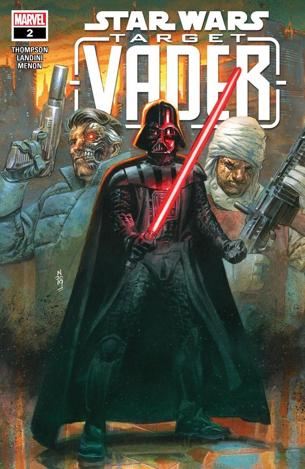 STAR WARS TARGET VADER 2 Comic Review for week of August 16th, 2019