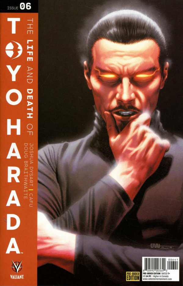 Comic Review for week of August 16th, 2019 THE LIFE AND DEATH OF TOYO HARADA #6