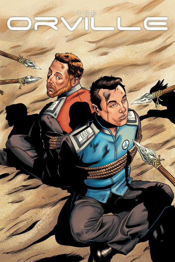 Comic Review for week of August 16th, 2019 THE ORVILLE #2