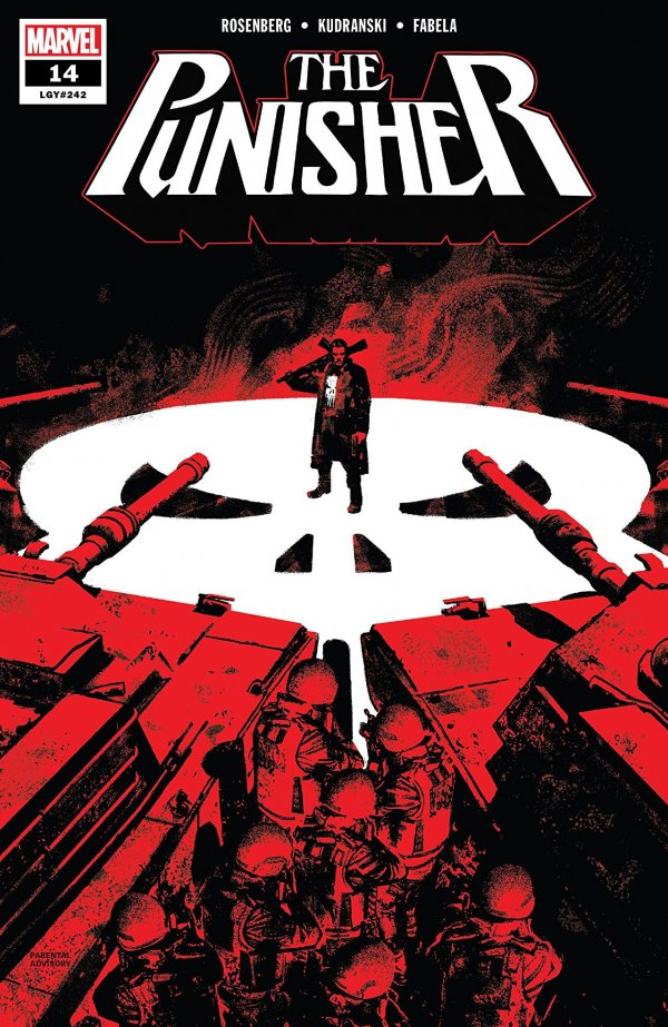 Comic Review for week of August 7th, 2019 THE PUNISHER #14