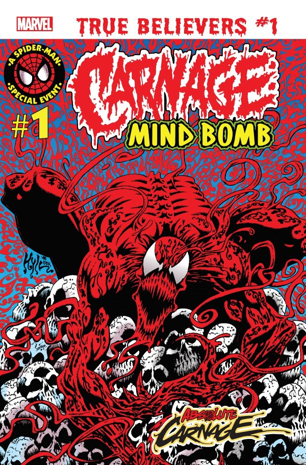 TRUE BELIEVERS ABSOLUTE CARNAGE MIND BOMB 1 Comic Review for week of July 31, 2019