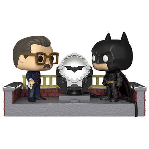 Batman Light-Up Bat-Signal 80th Anniversary Pop! Movie Moment Batman Light-Up Bat-Signal 80th Anniversary Pop! Movie Moment