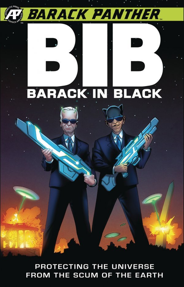 Comic Review for week of August 28th, 2019 BARACK PANTHER BARACK IN BLACK #1
