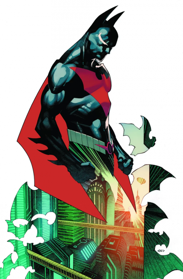BATMAN BEYOND 35 VARIANT EDITION Comic Review for week of August 28th, 2019