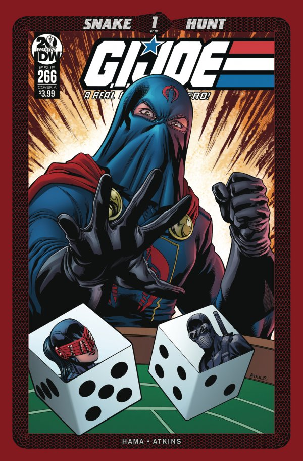 G.I. JOE A REAL AMERICAN HERO 266 Comic Review for week of August 28th, 2019