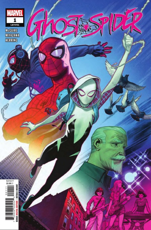 GHOST SPIDER 1 Comic Review for week of August 21st, 2019