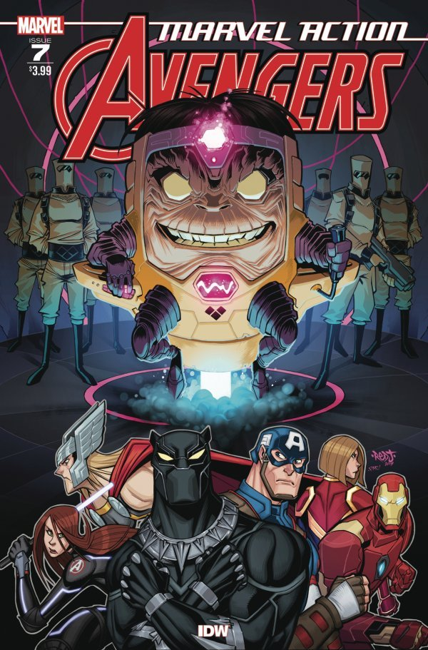Comic Review for week of August 21st, 2019 MARVEL ACTION AVENGERS #7