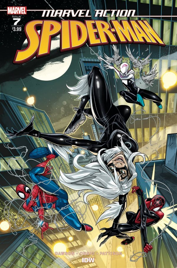 Comic Review for week of August 21st, 2019 MARVEL ACTION SPIDER-MAN #7