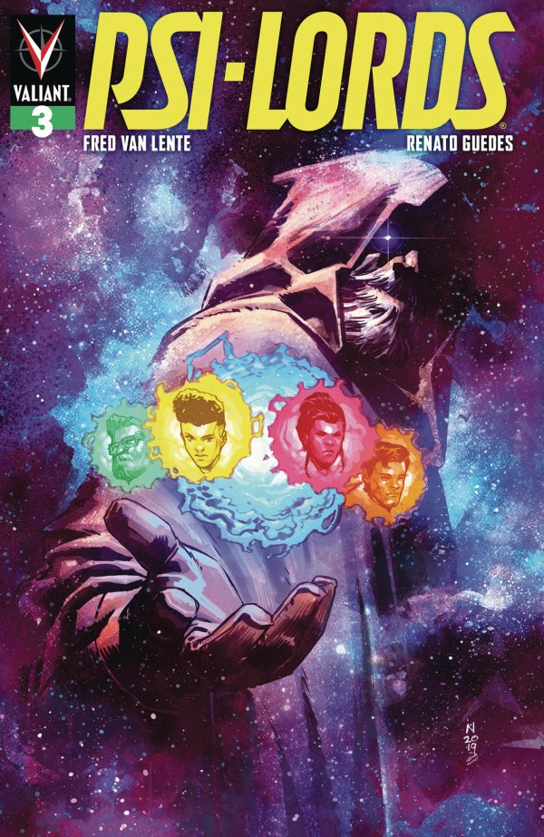 Comic Review for week of August 21st, 2019 PSI-LORDS #3