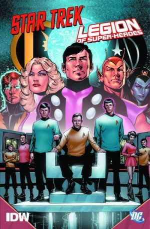 Comic Review for week of August 28th, 2019 STAR TREKLEGION OF SUPER-HEROES HC