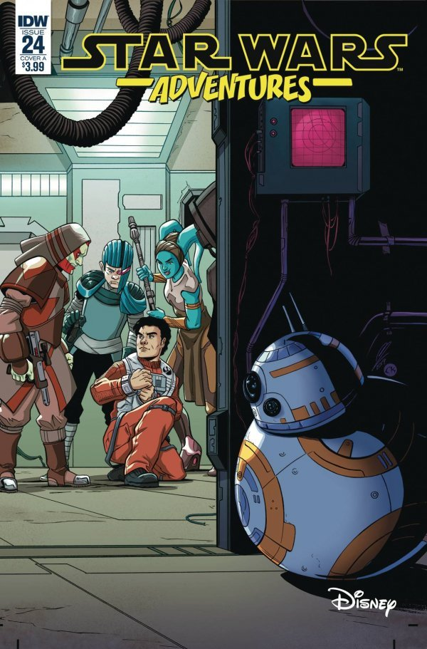 Comic Review for week of August 21st, 2019 STAR WARS ADVENTURES #24