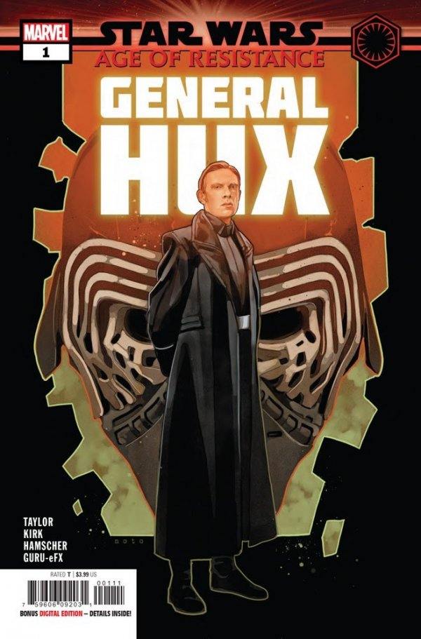Comic Review for week of August 28th, 2019 STAR WARS AGE OF RESISTANCE – GENERAL HUX #1