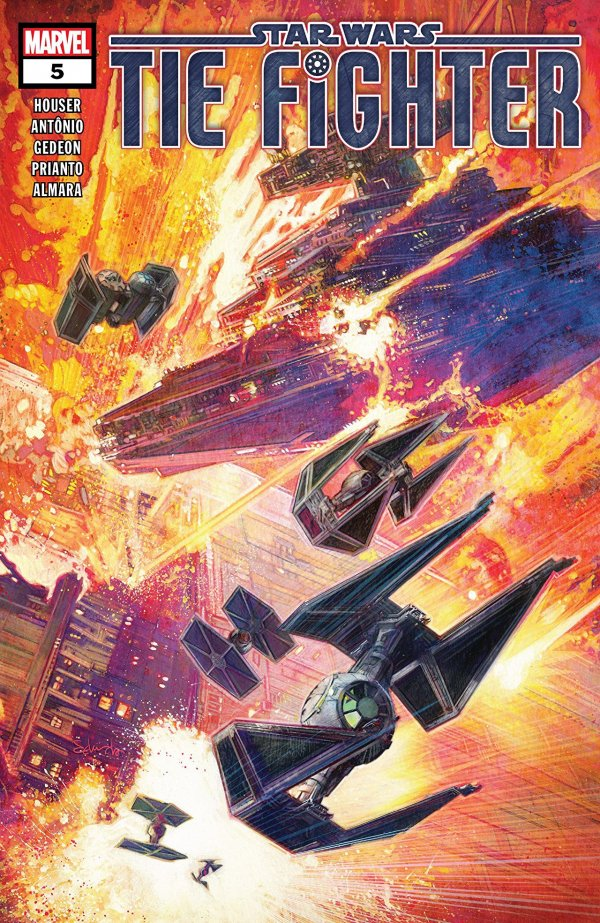 Comic Review for week of August 21st, 2019 STAR WARS TIE FIGHTER #5