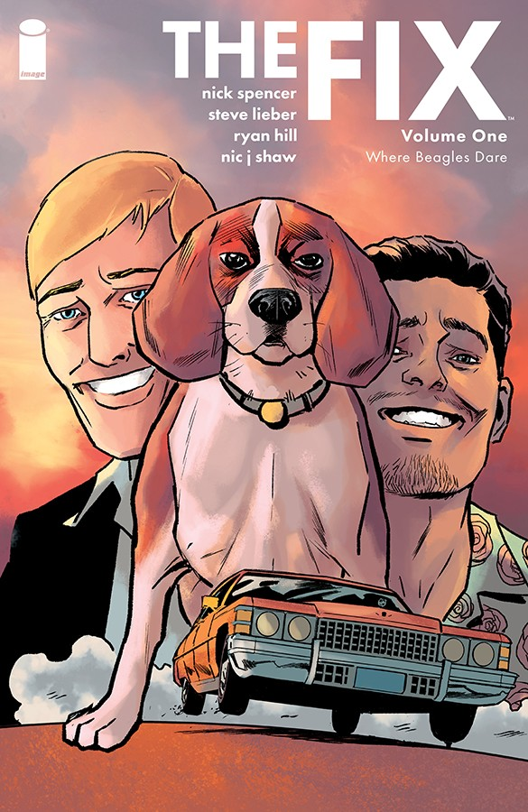 THE FIX VOL. 1 WHERE BEAGLES DARE TP Comic Review for week of August 28th, 2019